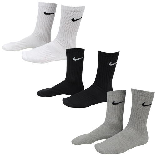 Sosete unisex Nike 3PPK Value Cottom Crew - SMLX SX4508-965
